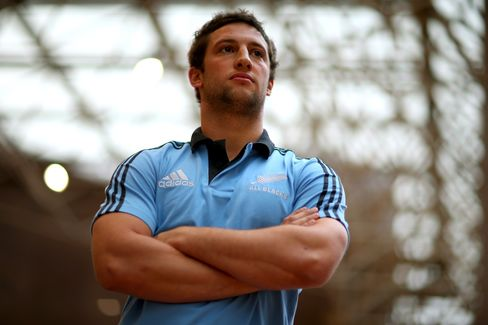 New Zealand Rugby Player Tom Taylor