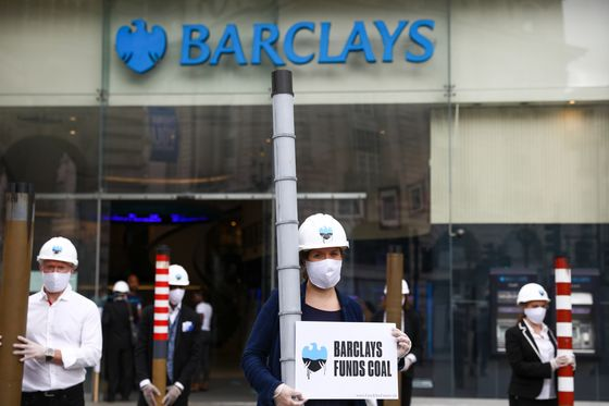 Barclays Targeted by Fresh Climate Protests Over Coal Support