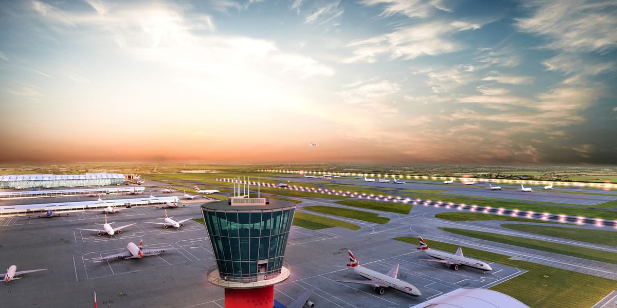 Heathrow Runway in Doubt as Government Won't Appeal Legal Ruling