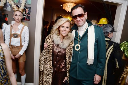 Tory Burch and Pierre-Yves Roussel | 9:21 PM
