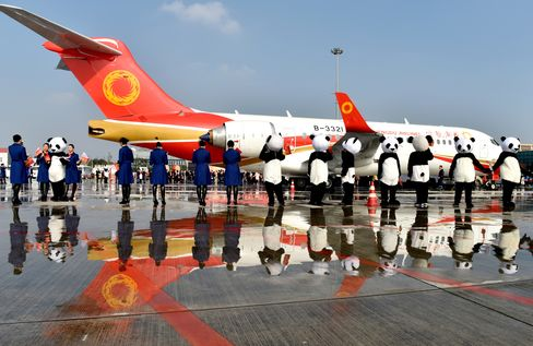 China-made Regional Jet ARJ21 Is Delivered To Domestic Airlines