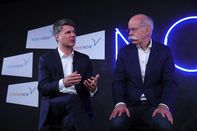 Daimler AG And Bayerische Motoren Werke AG e-Mobility Joint Venture News Conference