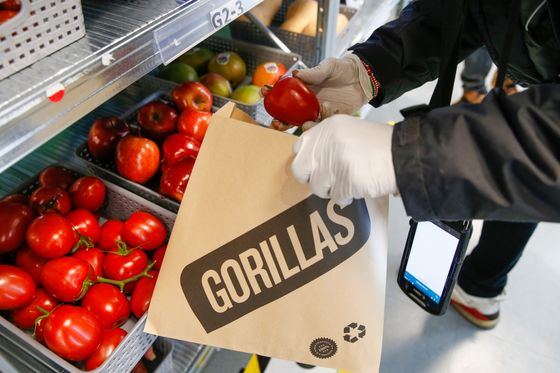 Delivery Hero Said to Invest in Gorillas at $3 Billion Value