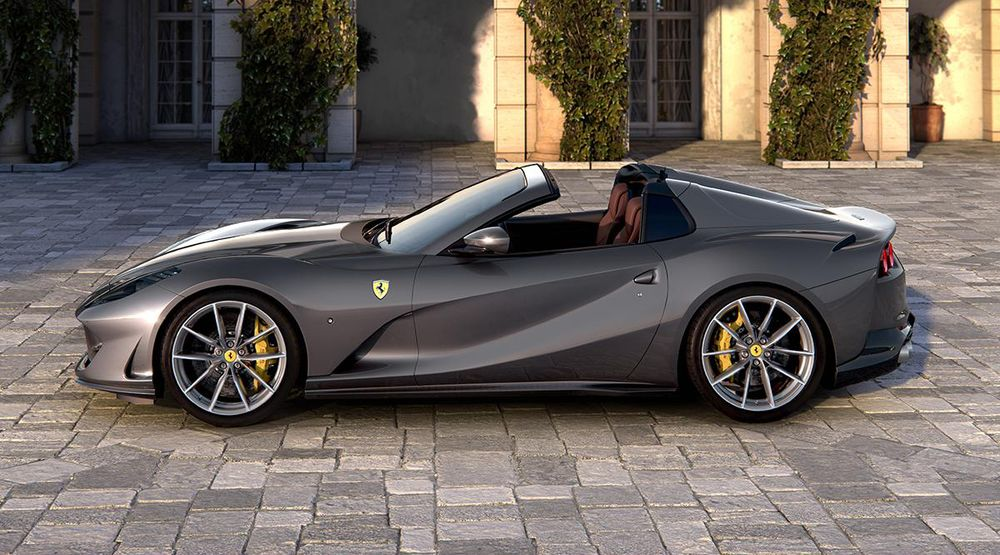 Ferrari Unveils Spider Models In Record Launch Year Bloomberg