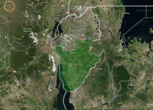 MAP: Burundi