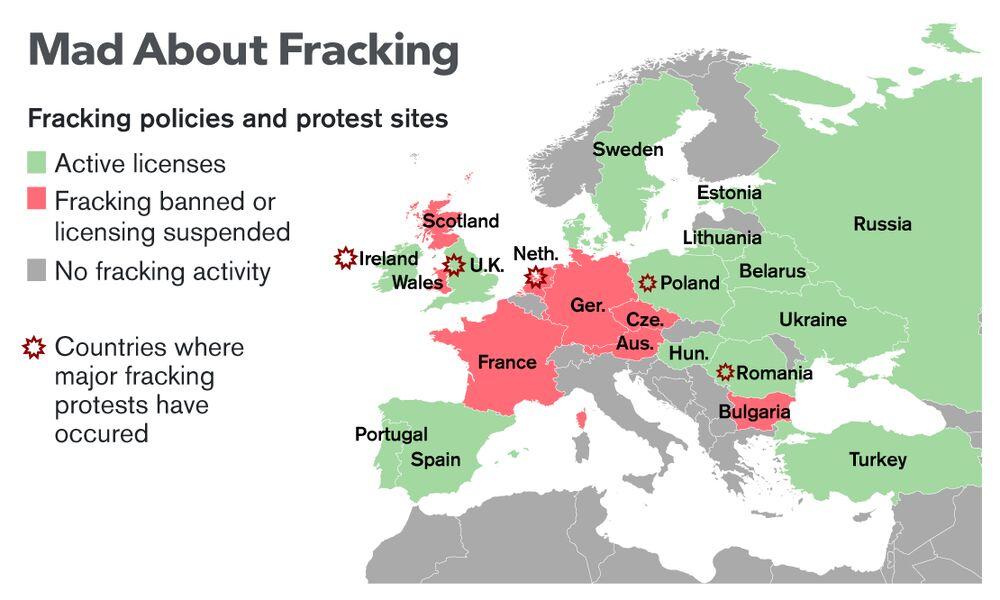 Fracking In Illinois Map.Fracking In Europe Bloomberg