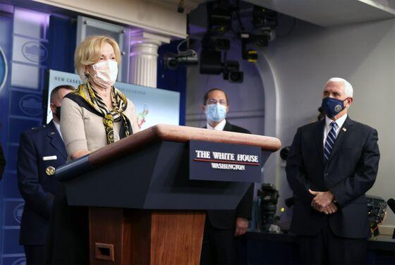 Trump Opposes Lockdown in Virus Surge But Birx Urges Vigilance