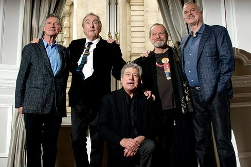 Monty Python Knows Comedy Rock Stars Can't Be Too Old