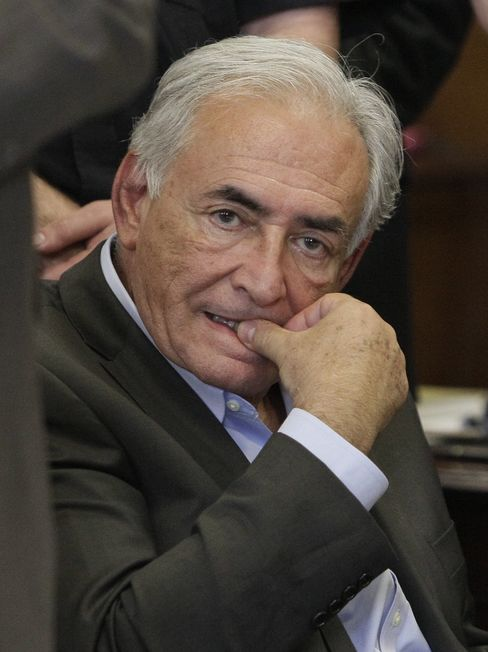 Former Head of the IMF Dominique Strauss-Kahn