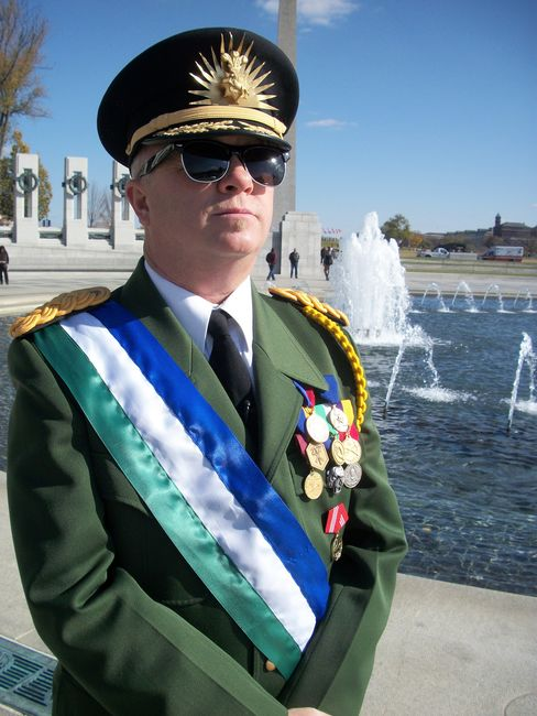 His Excellency, President Kevin Baugh, of the Republic of Molossia.
