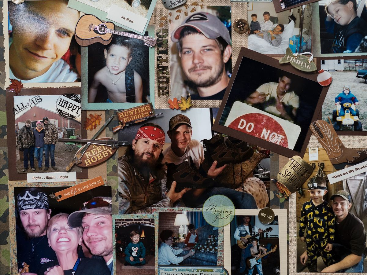 How Defective Guns Became The Only Product That Cant Be Recalled Taurus Millennium 9mm Schematics A Collage Of Pictures Thomas Bud Browns Late Son Jarred Hangs On Wall In Home Griffin Ga Jan 25 2018