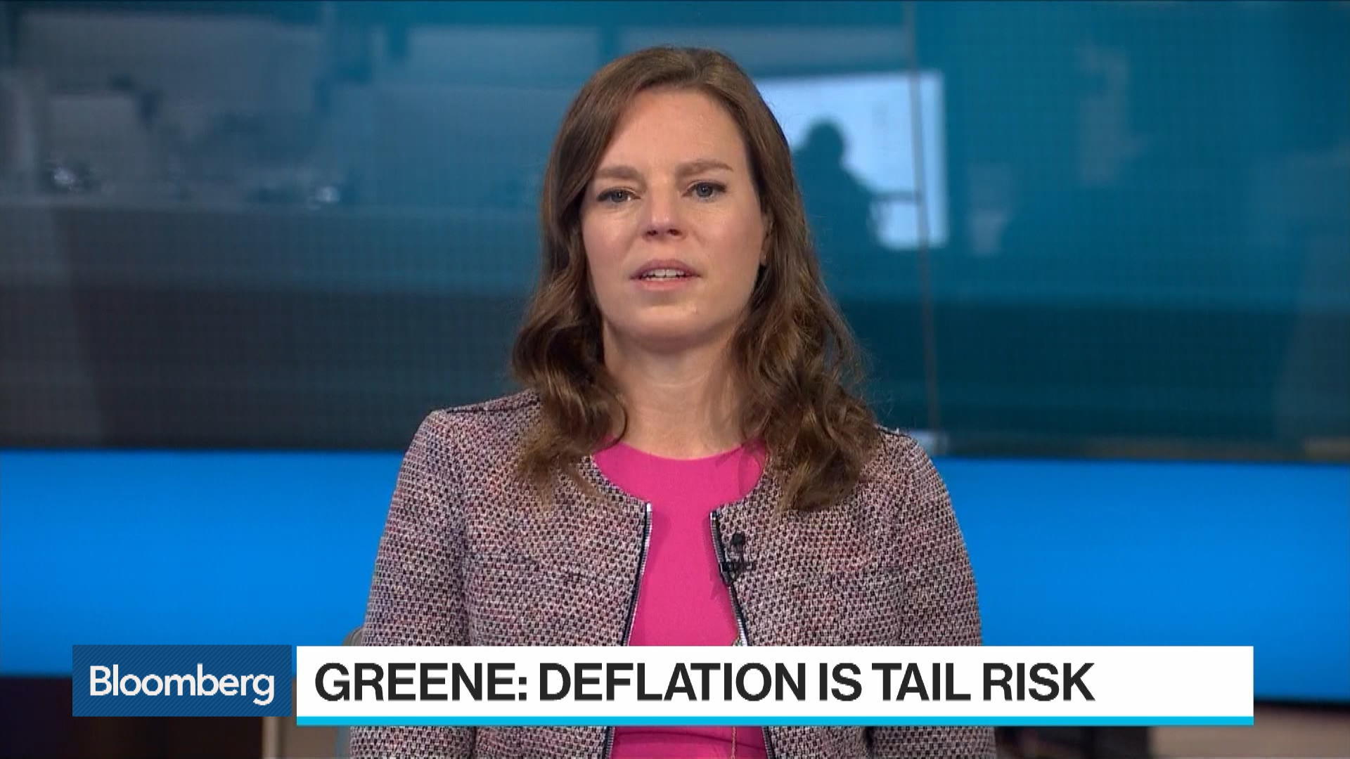 Deflation Is the Tail Risk Now for U.S., Economist Greene Says