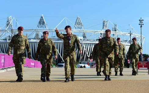U.K. Adds 1,200 More Olympic Troops to 'Leave Nothing to Chance'