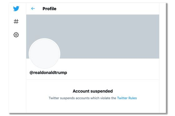 Twitter Permanently Bans President Donald Trump's Account