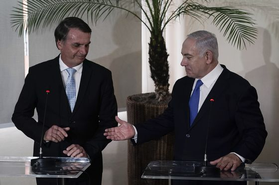Brazil Will Open Trade Office in Jerusalem, Bolsonaro Says