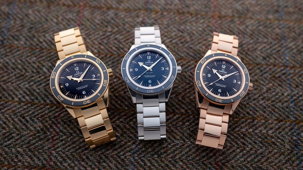 Trying On Nearly Two Pounds of Precious Metal Omega Watches thumbnail