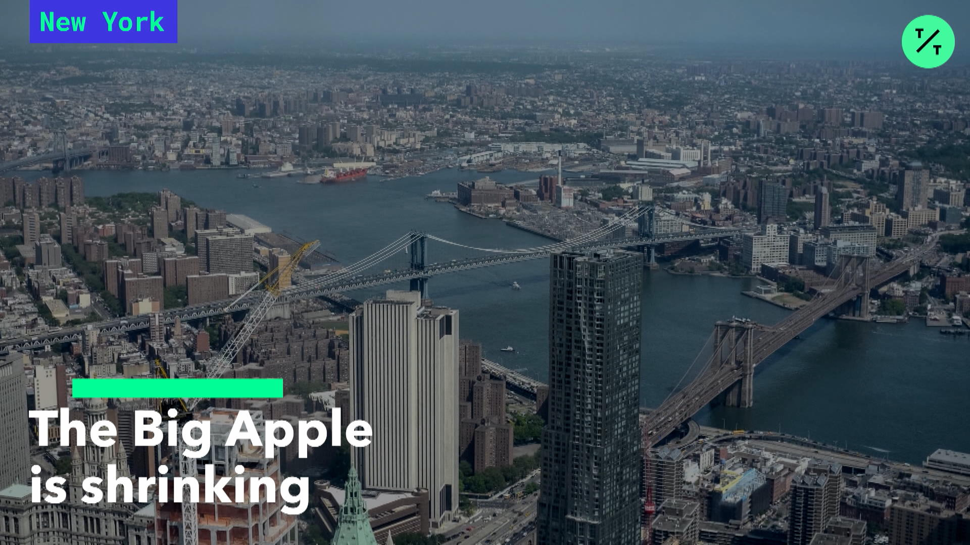 The Big Apple Is Shrinking