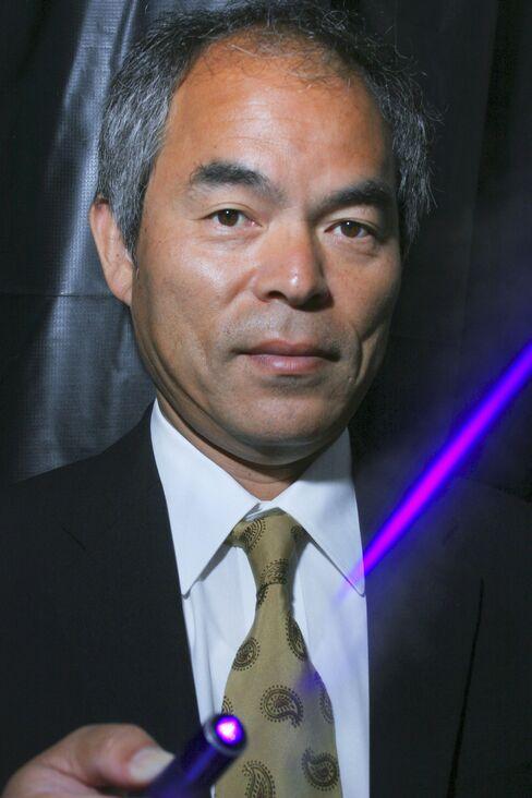 Scientist Shuji Nakamura