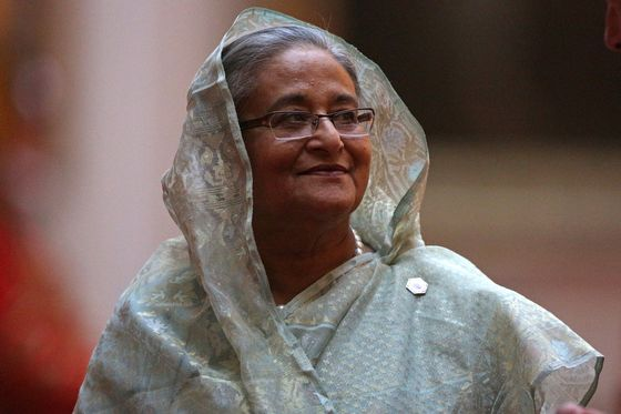 Hasina Looks to Extend 10-Year Bangladesh Rule in Dec. 23 Vote