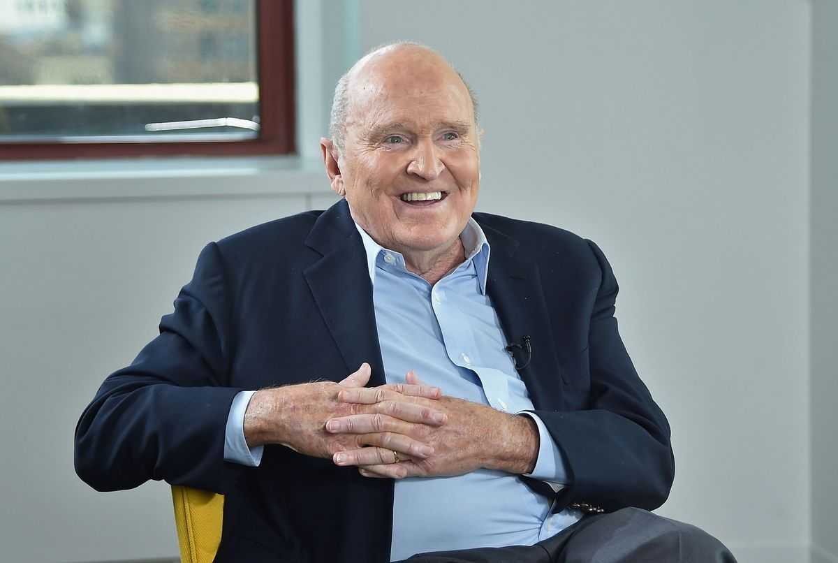 Jack Welch, Much-Imitated Manager Who Remade GE, Dies at 84