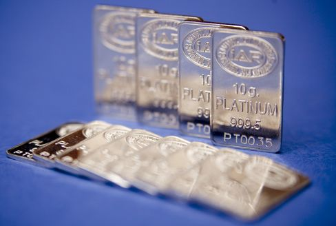 Platinum Supply Falls to 13-Year Low as Mines Close