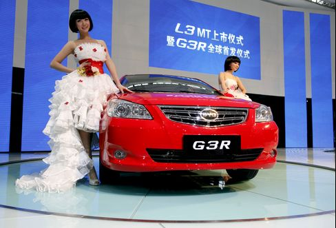 China Car Sales Have Worst Start Since 2005