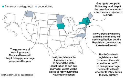 A New Push for Gay Marriage Rights