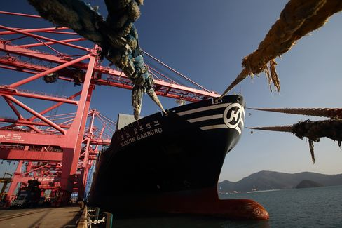 Hanjin Shipping Busan New Port