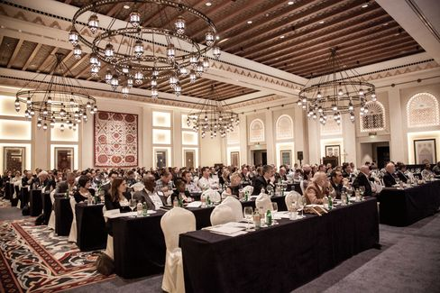 Citizenship shoppers and their representatives at a Henley & Partners conference in Dubai