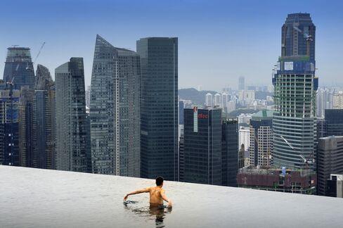 Skypark Pool in Singapore