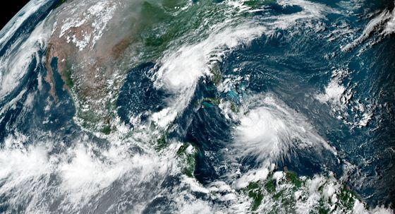 U.S. Gulf Coast Faces Threat From Pair of Tropical Storms
