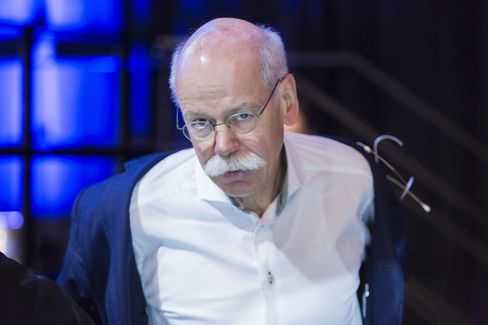 General Motors Co. Chief Executive Officer Mary Barra and Daimler AG Chief Executive Officer Dieter Zetsche Speak At CAR Symposium