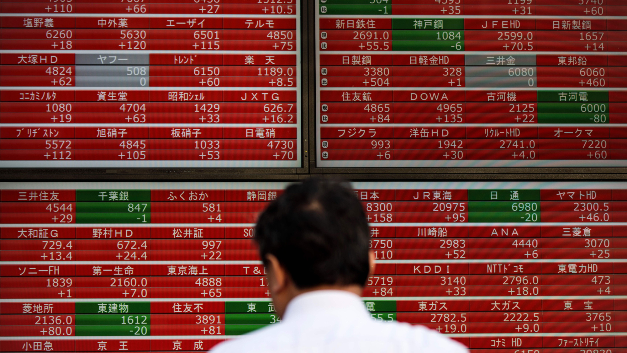 Tokyo stocks close lower as yen's rise drags down exporter issues