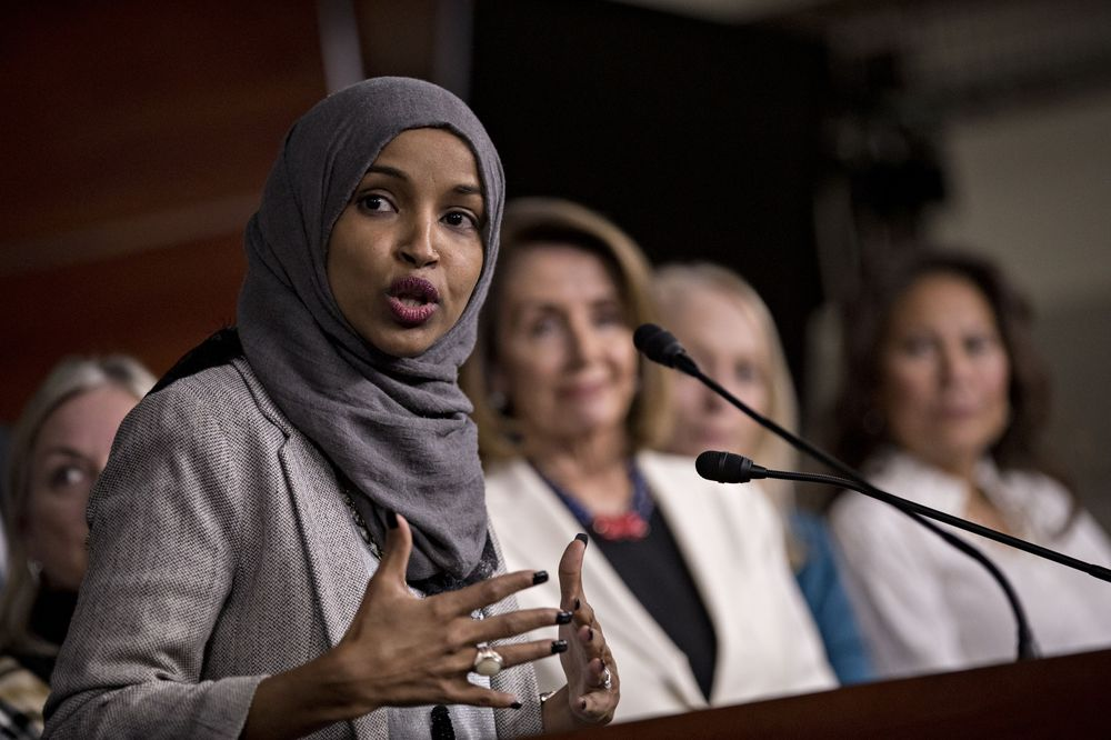 Ilhan Omar Apologizes After Pelosi Blasts 'Anti-Semitic Tropes' - Bloomberg