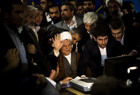 Former Iranian President Ali Akbar Hashemi Rafsanjani