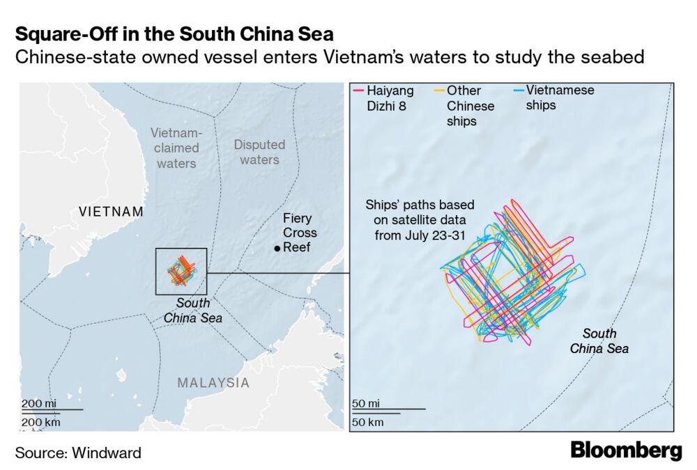 China, Vietnam Spar on High Seas Over $2.5 Trillion in ... on vietnam flag borders, south korea map, vietnam tour, indonesia map, vietnam travel guide, indochina map, vietnam border 17 feb 1979, vietnam forest, east asia map, vietnamese map, southeast asia map, austria and czech republic map, swaziland map, vietnam war, vietnam t-55 tank, vietnam dog trade, us mexico border fence map, malaysia map, argentina map, da nang map,