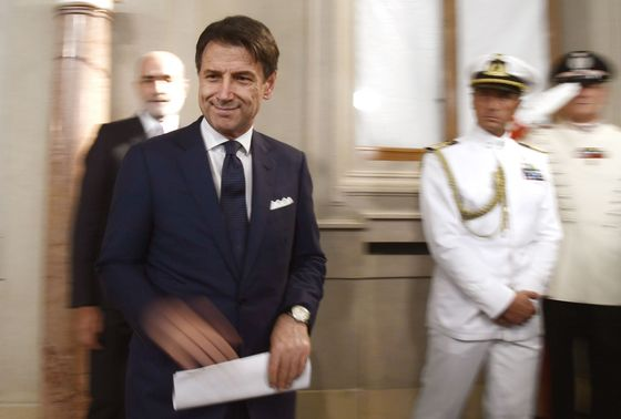 Italy's Conte Names Cabinet With Gualtieri as Finance Minister