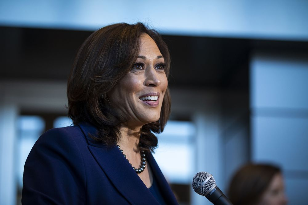 Kamala Harris Talks Contemporary Art In Pre Debate Fundraiser Bloomberg