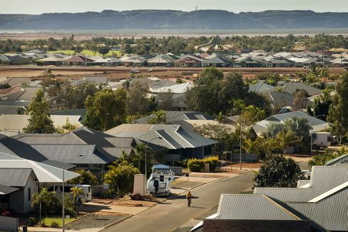 Karratha in Western Australia