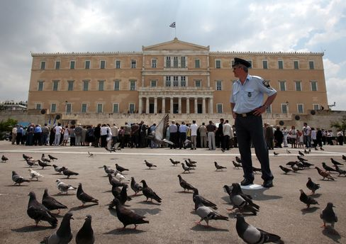 Greece Gets Lowest Rating From S&P as Default Risk Rises