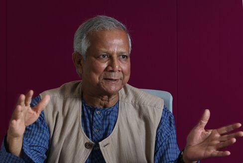 Grameen Bank Founder Muhammad Yunus