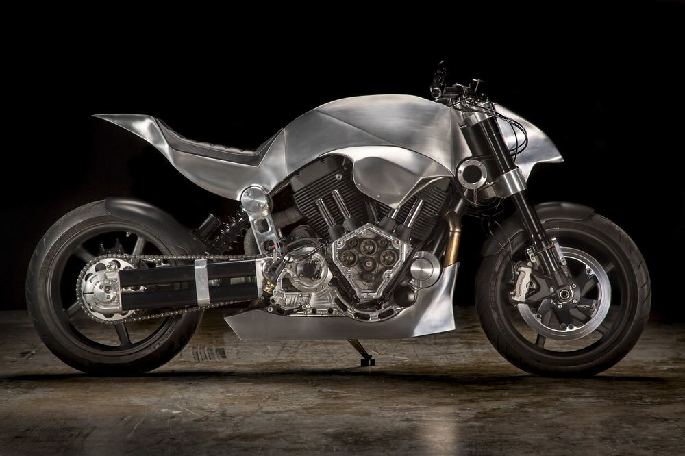 Why Does This Re-Engineered Motorcycle Cost $115,000?
