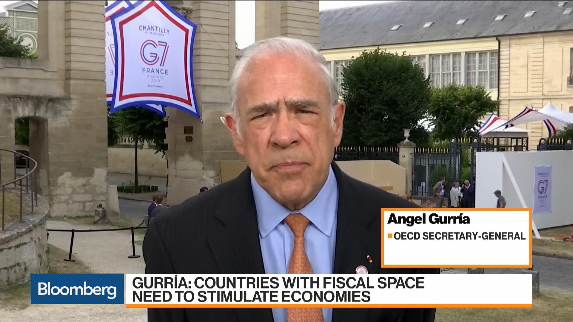 IMF Leadership 'In Good Hands' With Any of the Names on List, says Gurria