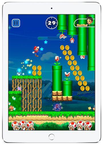 Nintendo's new game Super Mario Run. Source: Nintendo Co.