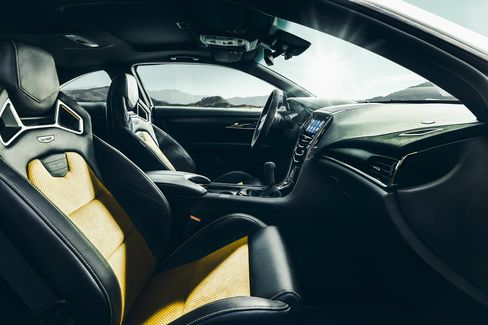 The Cadillac ATS-V Coupe arrives track-capable from the factory next spring, powered by the first-ever twin-turbocharged engine in a V-Series. Rated at an estimated 455 horsepower (339 kW) and 445 lb-ft of torque (603 Nm), the 3.6L V-6 is the segments highest-output six-cylinder and enables 0-60 performance of less than 4 seconds and a top speed of more than 185 mph.