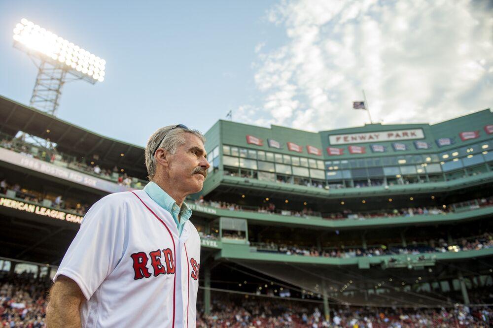 efbfc280 Former Boston Red Sox player Bill Buckner in 2016 at Fenway Park in Boston,  Massachusetts