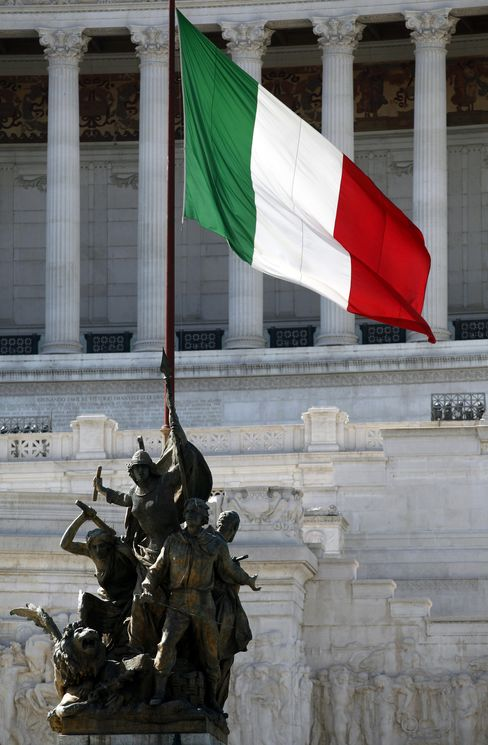 Italy Yields Drop at Auction on Prospect of ECB Bond Buying