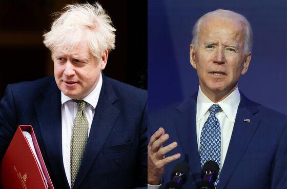 Boris Johnson's G-7 Plans Get a TimelyBoost From Joe Biden