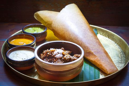 The Hoppers dosa.
