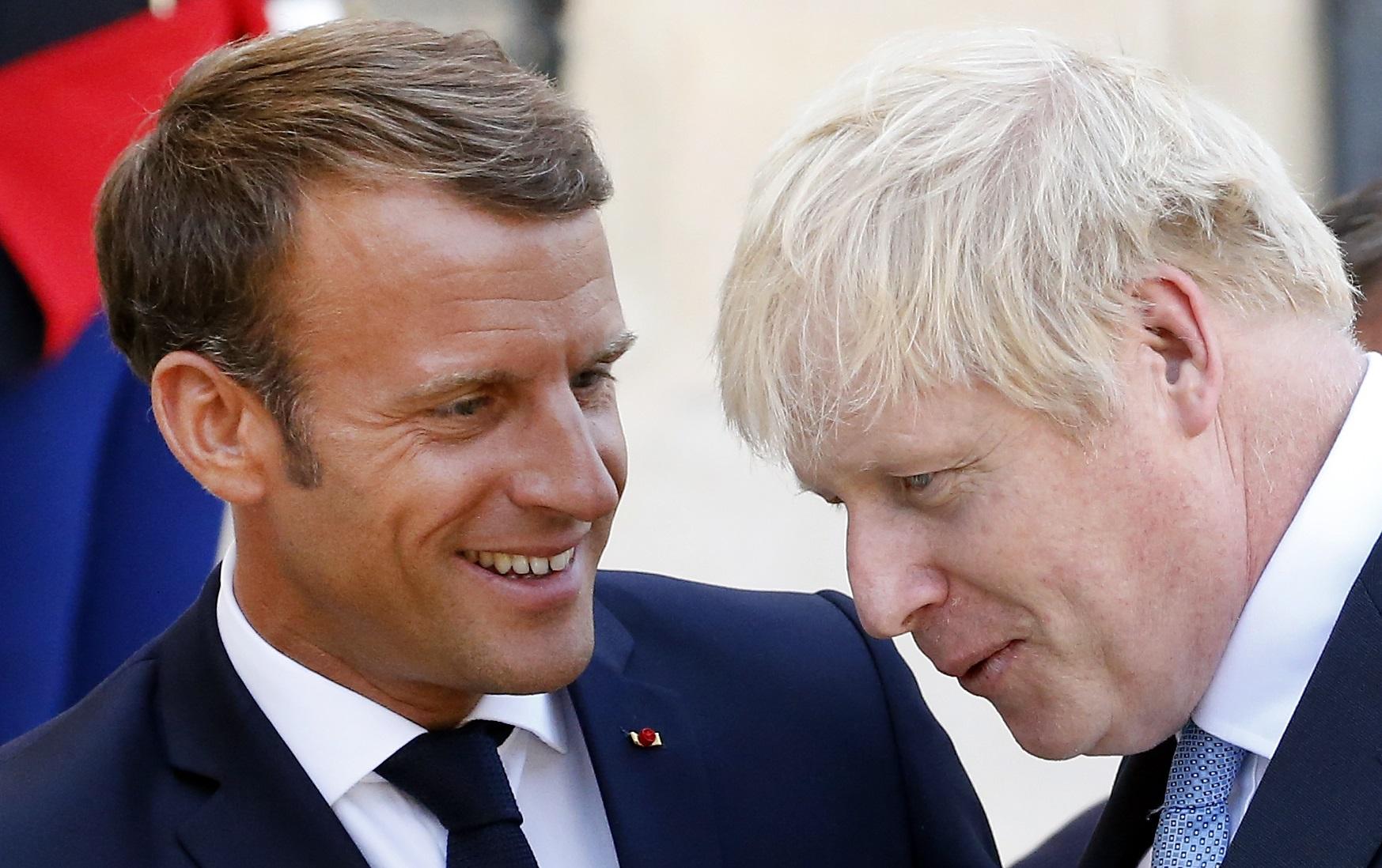 Brexit Vote Emmanuel Macron Can T Save Boris Johnson Bloomberg